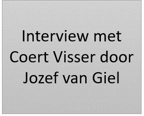 Interview met Coert Visser door Jozef van Giel