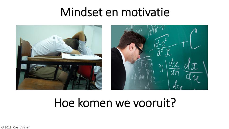 Presentatie mindset en motivatie