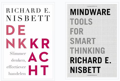 Bespreking van Mindware: tools for smart thinking (2015) door Richard Nisbett