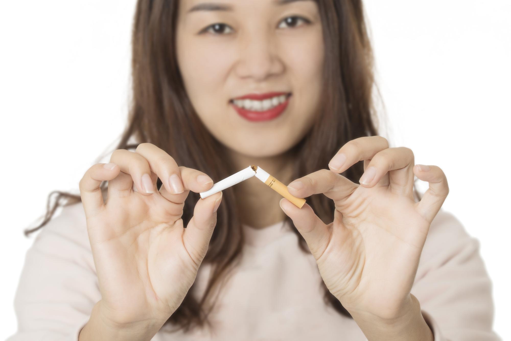 Keuzevrijheid in hoe je wilt stoppen met roken werkt