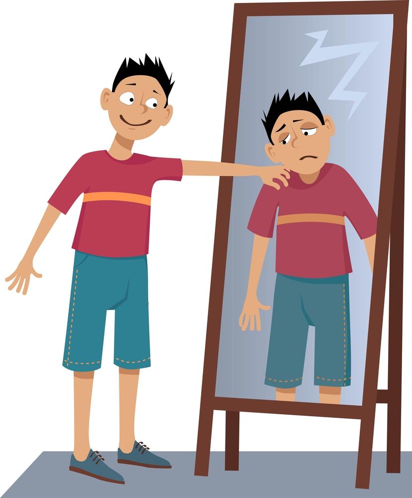 Gedistantieerde zelfspraak verandert hoe we onszelf zien